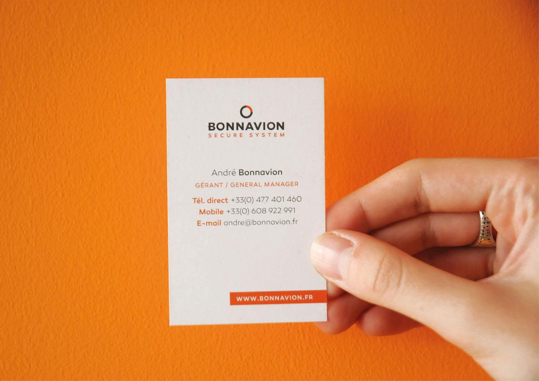 Bonnavion Carte De Visite